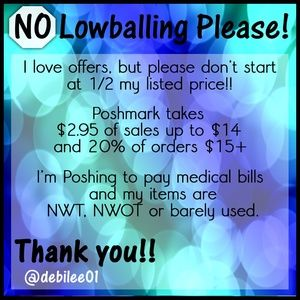 I accept REASONABLE offers ONLY!!